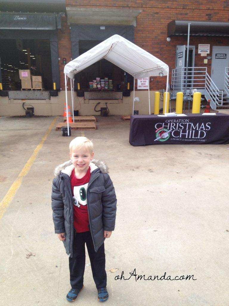 The Operation Christmas Child Atlanta Processing Center