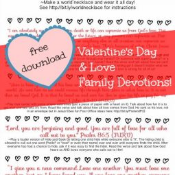 Fun God's Love Family Devotionals from ohAmanda.com and MissionalWomen.com