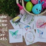 Easy Scripture Ideas for Meaningful Easter Baskets + Free Printable Cards