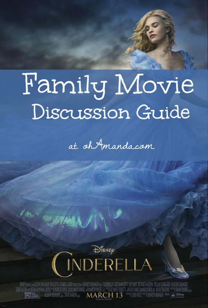 cinderella family movie discussion guide