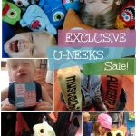 SQUEEEE! U-NEEKS 50% off+ SALE for Easter!!