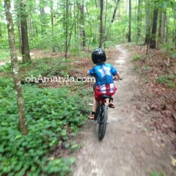 mountain biking kids