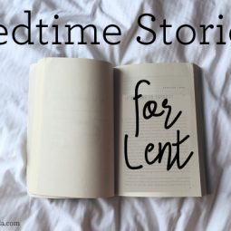 Great bedtime reads for little kids during Lent. // ohAmanda.com