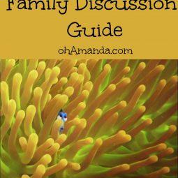 finding dory family discussion guide ohamanda.com