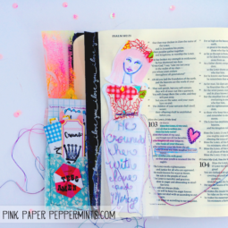 Bible Journaling from Pink Paper Peppermints