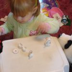 Lydia's First Tea Party