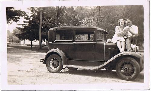 a car! on my blog! who'da thunk?
