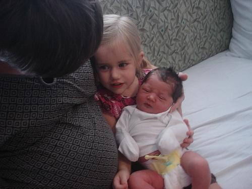 Lydia, the baby and my big big preggo tummy