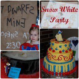 kids snow white seven dwarfs