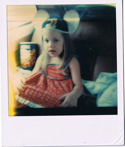amanda at disney. circa 1980.