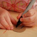Little Hands (Or a Bookworm Bookmark)