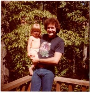 me & Daddy. 1978ish.