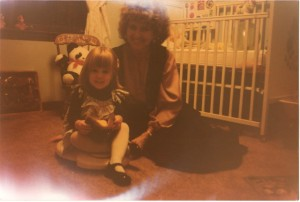 me & Grandma. Thanksgiving 1978.