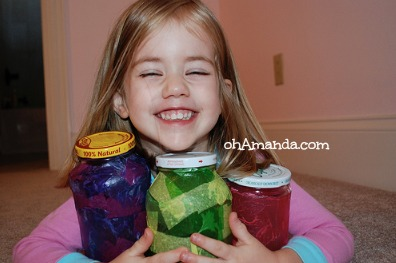 money jars for kids