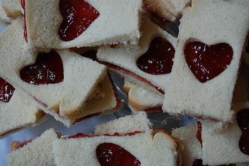 ace of hearts jelly sandwich