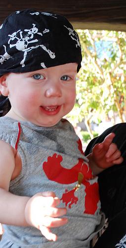 disneyland pirate baby