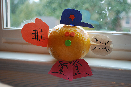 orange kindness fruit of the spirit craft