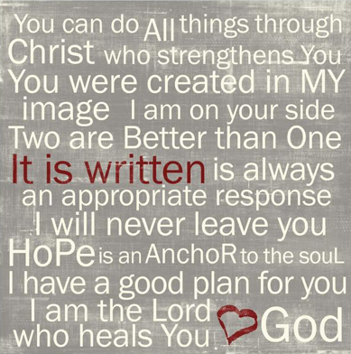god's word healing