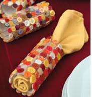 indian corn napkin ring thanksgiving