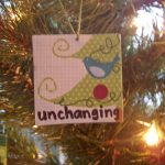 God is… unchanging
