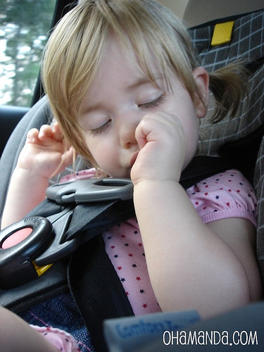 toddler thumb