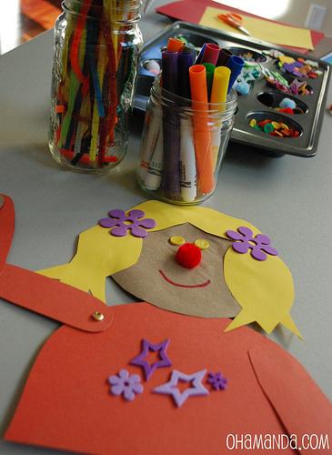 rod stick puppet craft 2