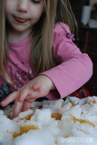 snow taffy candy