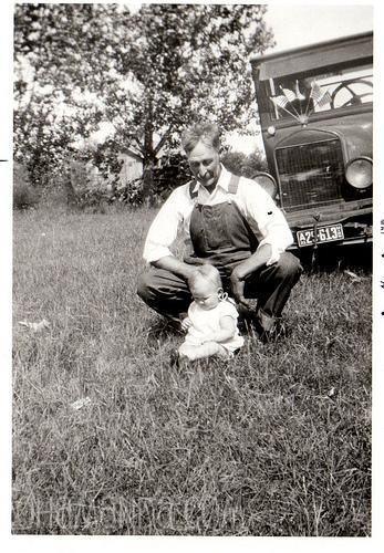 1931. Grandma. Great-Grandpa Peterson.