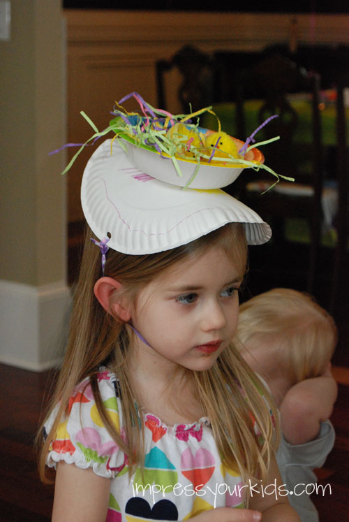 kids easter bonnet