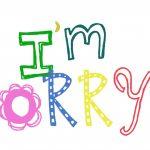 Top Ten {Tuesday}: When Momma Apologizes