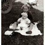 Cuddling: A Retro Photo