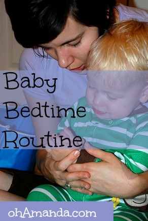Simple & fun baby bedtime routine --with props and songs that teach God's Word. // ohAmanda.com