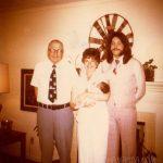 Four Generations. A Retro Photo.
