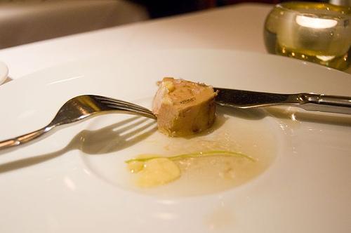1st Course: Mesquite-grilled foie gras