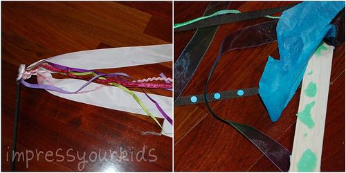 ribbon sticks