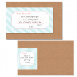 free wraparound label