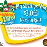 Veggie Tales LIVE *Giveaway AND Coupon*