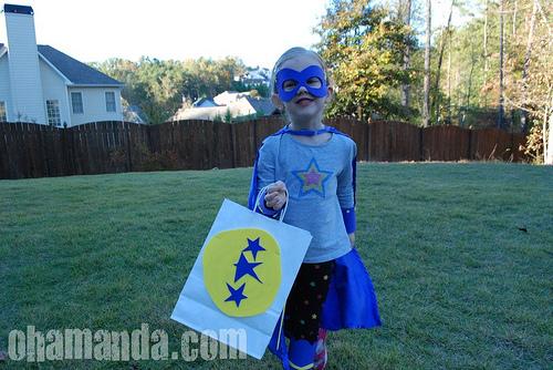 make your own super hero costume