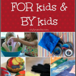 Handmade Gifts FOR Kids BY Kids: Top Ten {Tuesday} *giveaway*