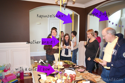 tangled party rapunzelt