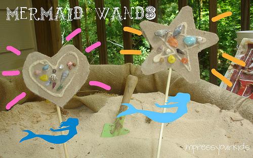 mermaid wand