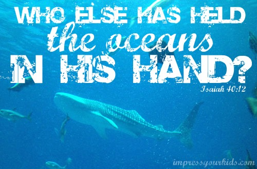 bible verse about oceans