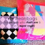DIY Beanbags For People Who Don't Sew & Aren't Too Crafty