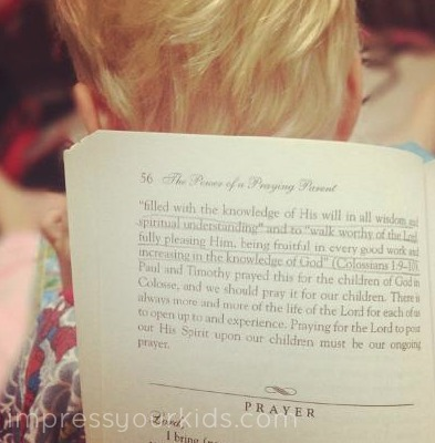 praying for your children book suggestions