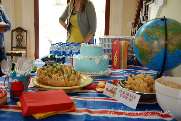 Food for a Flying Ace Party