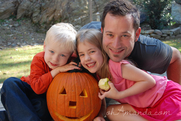 Fun Pumpkin Family Time