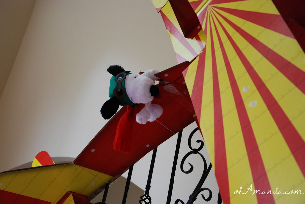Snoopy & the Flying Ace Party