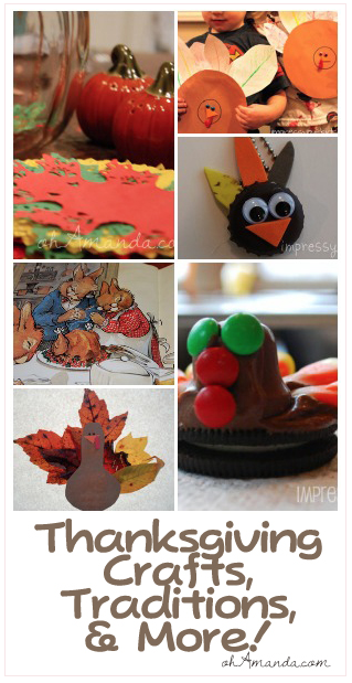 Fun Thanksgiving & Fall Crafts & Traditions