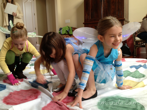 Secret of the Wings Tinkerbell Periwinkle Party Giant Twister