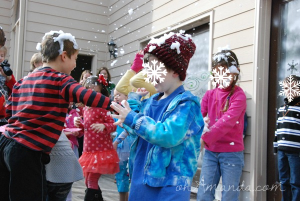 Secret of the Wings Tinkerbell Periwinkle Party snowfall 2